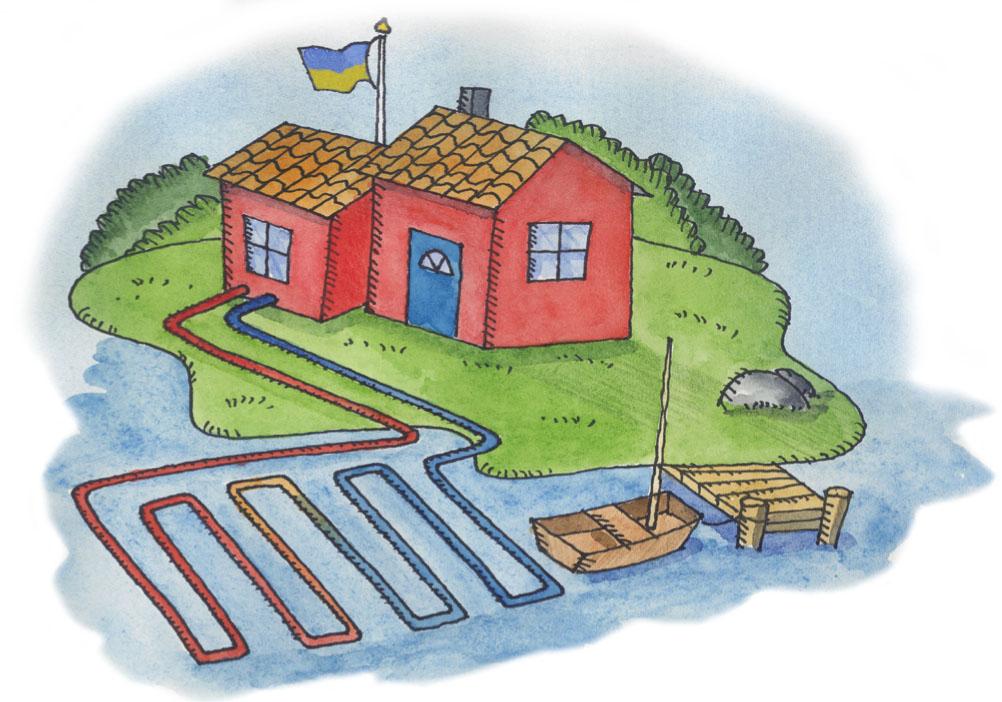 Геотермальные тепловые насосы в украине